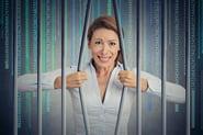 data locked away