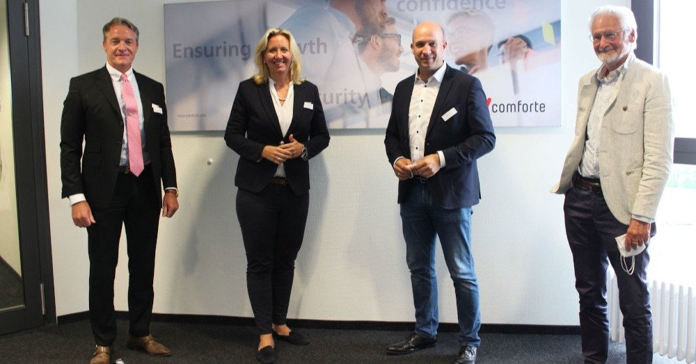 comforte AG Welcomes Guests from Bundestag and Hessian Parliament