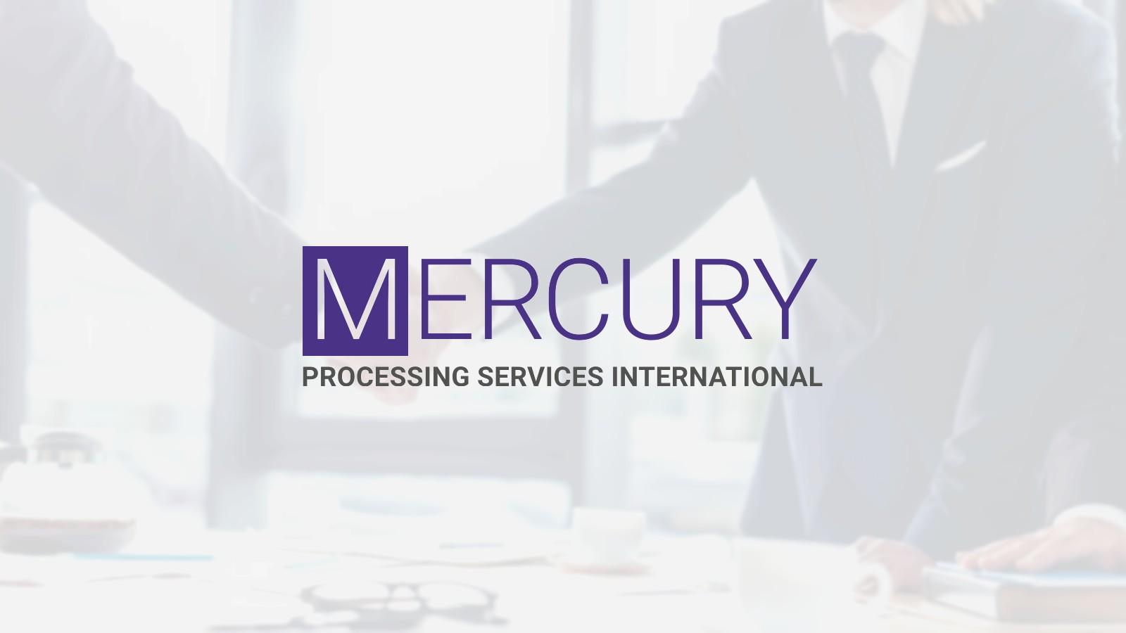 Mercury Processing Services International Chooses comforte AG for Enterprise Data Security